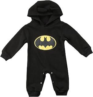 CHRONSTYLE Strampler Set Junge, 2019 heißer Baby Jungen Kurzarm Superman Strampler Hut Schuhe und Socken dreiteilige Kleidung Set