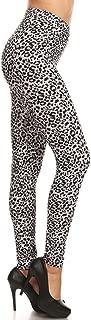 Leggings Depot Women's Ultra Soft Printed Fashion Leggings BAT12