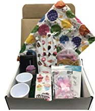 Giggle Golf Birthday Golf Gift Box   Great Golf Accessories for Women   Ladies Golf Glove, Pair of Socks, Bling Golf Ball Markers & More