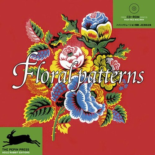 Floral Patterns / Blumenmuster + CD ROM by Pepin Van Roojen (1999-02-01)