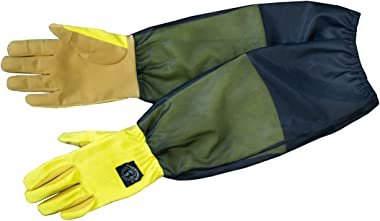Womanswork Tick and Bug Blocker Glove with Mesh Arm Saver, Large