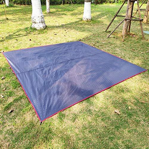 Mantel Picnic,Área de Piso de Carpa al Aire Libre Almohadilla de Picnic de Hierba Oxford Cloth-Gray_3 * 3M,Toalla antiarena Playa