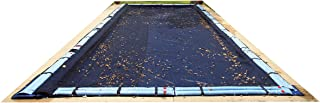 Blue Wave BWC562 18-ft x 36-ft Rectangular Leaf Net In Ground Pool Cover, Black