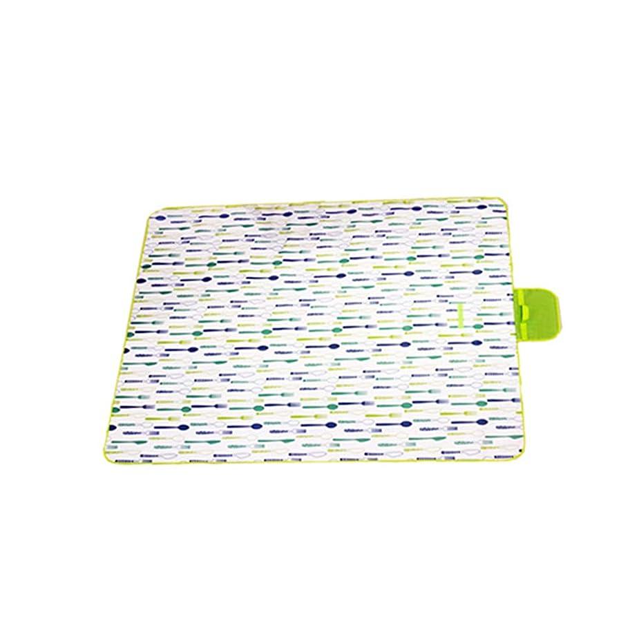 ZDTXKJ Outdoor Picnic Blanket Water-Resistant Environmentally Friendly Oxford Cloth Waterproof Beach Mat pdzvdl0426060