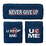 WWE John Cena U Cant Stop Me Sweatband Set Multi