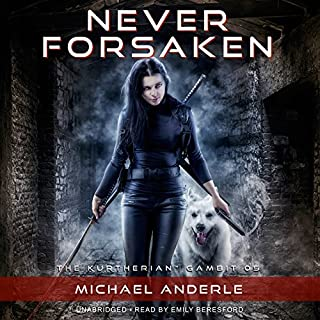 Never Forsaken     The Kurtherian Gambit, Book 5              By:                                                                                                                                 Michael Anderle                               Narrated by:                                                                                                                                 Emily Beresford                      Length: 7 hrs and 19 mins     715 ratings     Overall 4.8