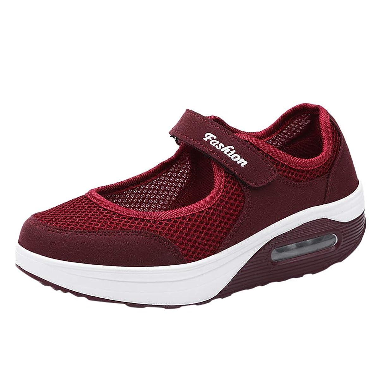 Mesh Slip On Sneakers for Women,SMALLE??? Women's Walking Shoes Woven Stretch Mesh Loafers Lightweight Flat Sneakers