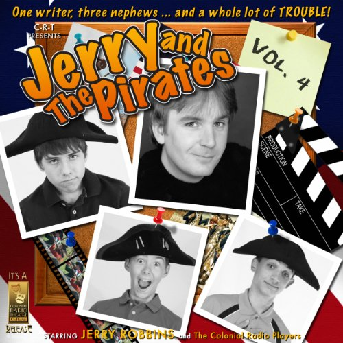 Jerry and the Pirates, Vol. 4 audiobook cover art