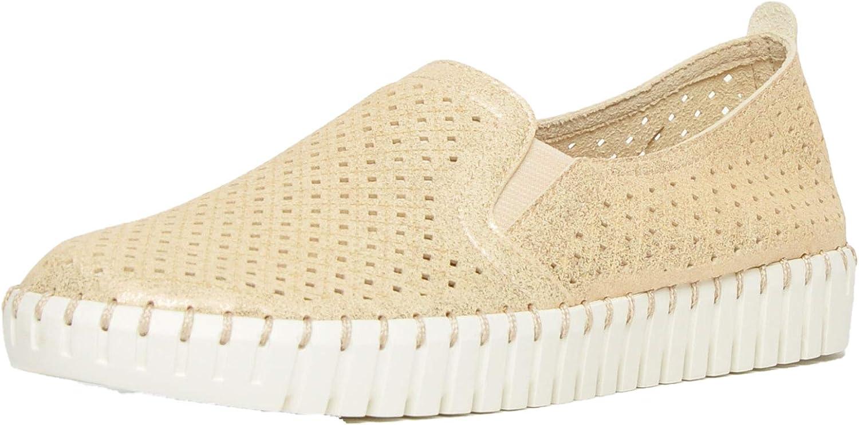 Skechers Memorable Memory Foam Women Casual Walking Shoes Antique Beige Gold