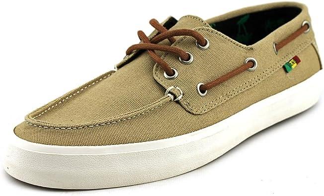 Vans Chauffeur SF Homme US 10 Tan Boat Chaussures : Amazon.fr ...
