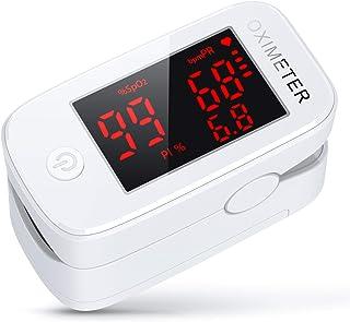 3 in 1 konjac Saturimetro Professionale, Pulsossimetro da dito con Letture Immediate Ossimetro per Saturazione di Ossigeno...