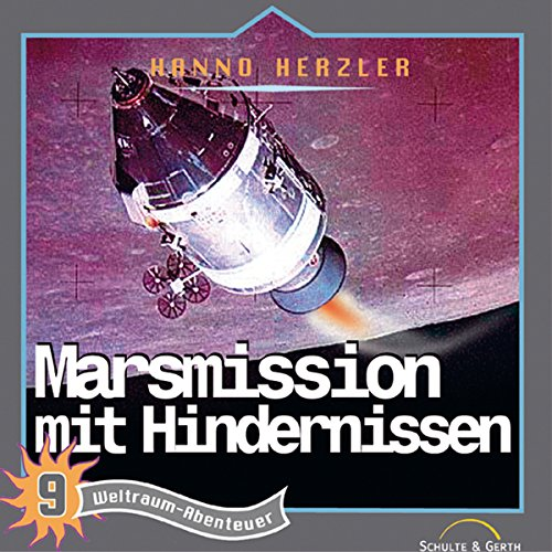 Marsmission mit Hindernissen audiobook cover art