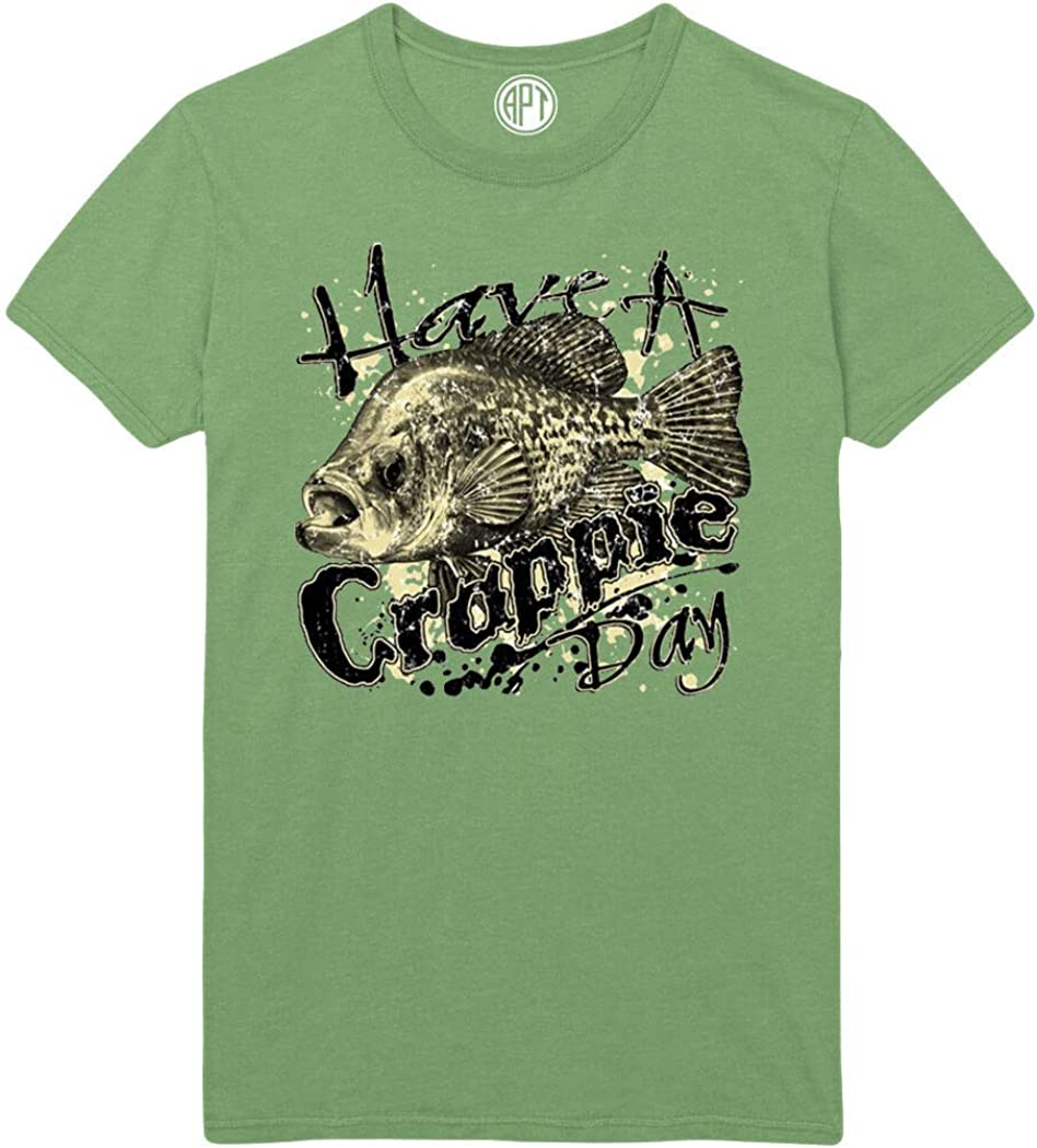 Have a Crappie Day Funny Fishing Printed T-Shirt