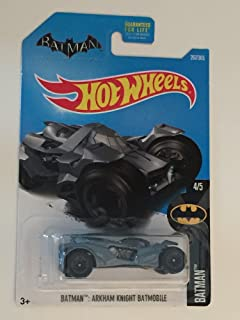 Hot Wheels 2017 Batman Arkham Knight Batmobile 267/365, Gray
