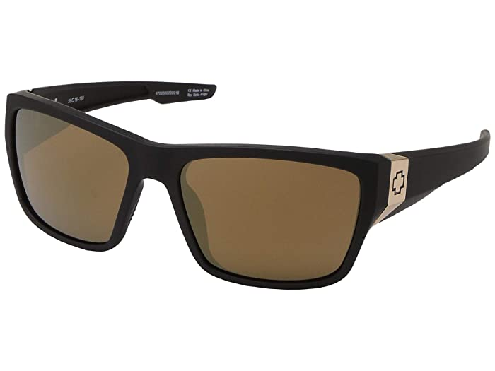 Spy Optic Dirty Mo 2 (25th Anniv Matte Black Gold/HD Plus Bronze w/ Gold Spectra) Sport Sunglasses