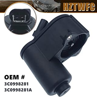 HZTWFC 12-TORX Rear Caliper Parking Brake Servo Motor 3C0998281 3C0998281A Compatible for VW PASSAT B6 B7 CC Tiguan