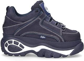 Buffalo London Luxury Fashion Womens 133914BLUE Blue Sneakers   Fall Winter 19