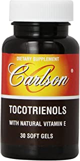 Carlson Labs Tocotrienols With Natural Vitamin E, 30 Softgels