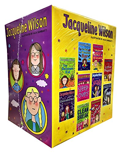 Jacqueline Wilson 10 Books Collection Box Set (Sleepovers, Bad girls, The Suitcase Kid, Clean Break, The Lottie Project, Midnight, The Illustrated Mum, Secrets, Cookie, The Bed and Breakfast Star)