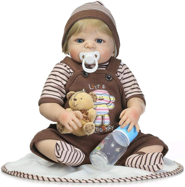 Supertop Reborn Baby Doll 18.1 Inch Sleeping Newborn Babies Boy Realistic Lifelike Toys Gifts