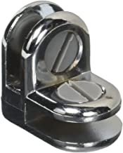 Chrome 2-Way Metal Glass Diplay Connector GordonGlass by GordonGlass