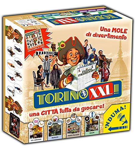 Torino XXL 2020/21 Un gran clásico de los juegos de mesa para adultos y niños. Conquista la ciudad. Una mucha de diversión para una ciudad todo para jugar.
