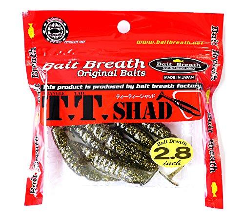 Bait Breath(ベイトブレス) ワーム ルアー ティー・ティーシャッド2.8 ゴールドメロン S845