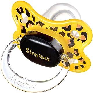 Simba Leopard Thumb Shape Pacifier, 0-6M