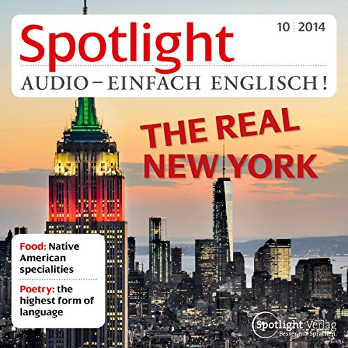 Spotlight Audio - The real New York. 10/2014     Englisch lernen Audio - Das echte New York              By:                                                                                                                                 div.                               Narrated by:                                                                                                                                 div.                      Length: 1 hr and 1 min     Not rated yet     Overall 0.0