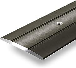 Aluminium overgangsprofiel Firm | C-vorm | voorgeboorde afdekstrip om te schroeven | breedte 36 mm | geanodiseerd brons | ...