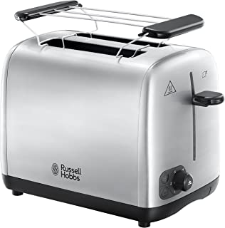 Russell Hobbs Grille Pain, Toaster, Cuisson Homogène, Contrôle Brunissage, Chauffe Viennoiserie - 24080-56 Adventure