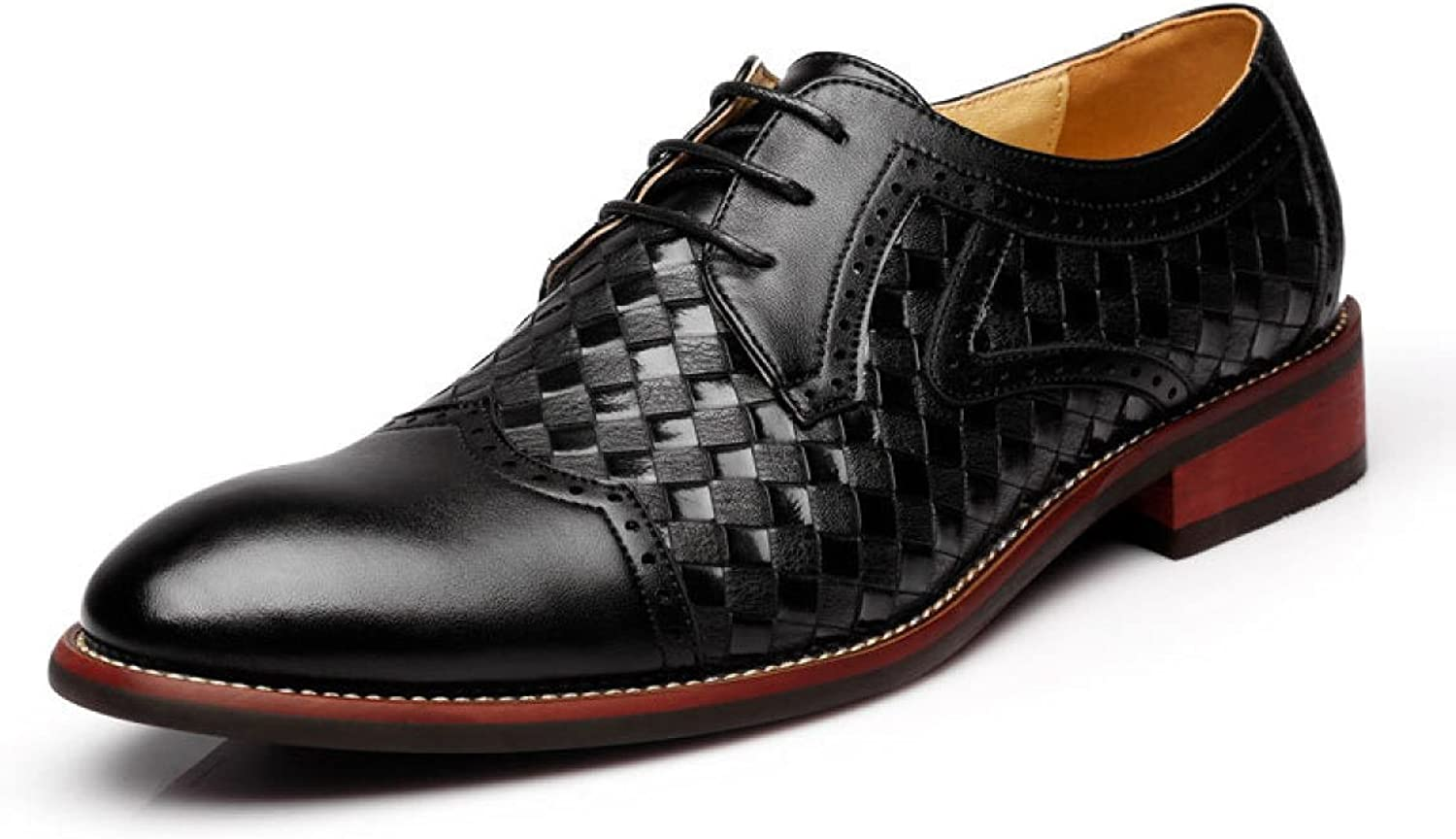 Pointed Braided Men's shoes Low To Help Lace Leisure England Wild Men's Singles