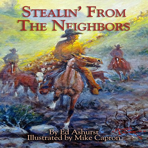 Stealin' from the Neighbors audiobook cover art