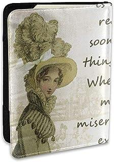 Cita de la Portada del Pasaporte Elizabeth Jane Austen Libro Bennett