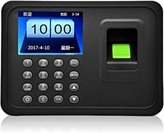OBO HANDS Fingerprint Attendance Machine LCD Display USB Biometric DC 5V/1A Time Clock Recorder Employee Checking-in Reader A6