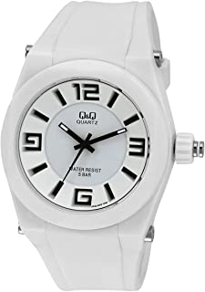 Q&Q For Unisex Dial Silicone Band Watch