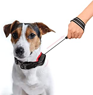 Mumoo Bear 2 In 1 Retractable Leash, Telescopic Pet Dog Collars Traction Rope Leads with Reflective Design for Daily Walki...