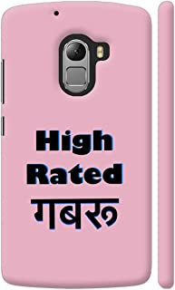 Colorpur High Rated Gabru On Pink Printed Back Case Cover for Lenovo K4 Note