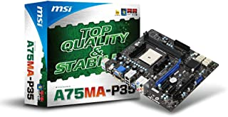 MSI A75MA-P35 Motherboard (AMD, A75, Mirco-ATX, RAID, Gigabit, LAN)
