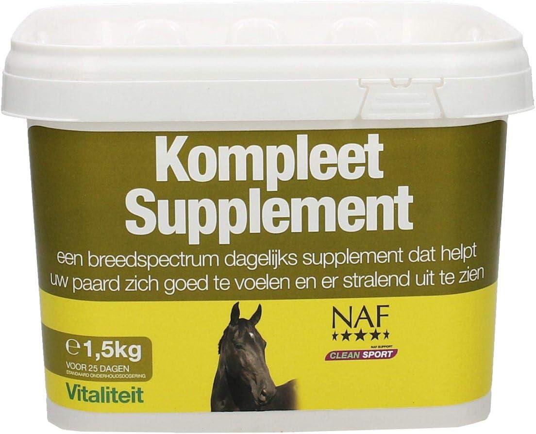 NAF General Purpose 1.5kg Health 35% OFF Clear Dedication Supplement