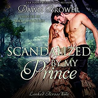 Scandalized by My Prince audiobook cover art