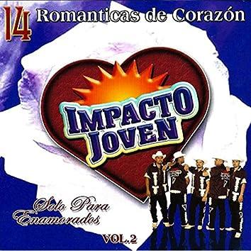 14 Romanticas De Corazon  Vol. 2