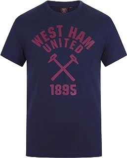 cd4644e87babf West Ham United FC - Camiseta Oficial para Hombre - Serigrafiada