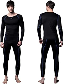 FITEXTREME Mens MAXHEAT Compression Performance Long Johns Thermal Underwear