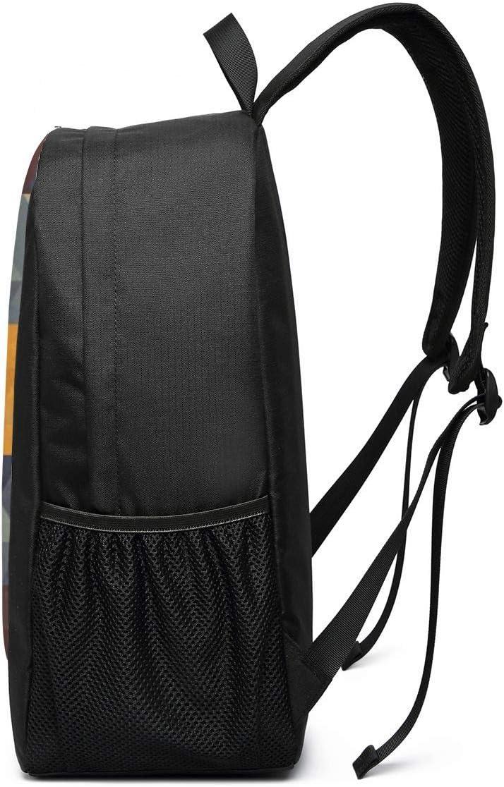 Oxford Unisex Travel Business Superbreak Daypack Adult Casual Backpack Art Geometry Slim Laptop School Bags