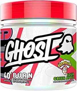 Ghost Lifestyle Burn Fat Burner Weight Fat Loss Thermogenic Mental Focus Energy - Sour Green Apple