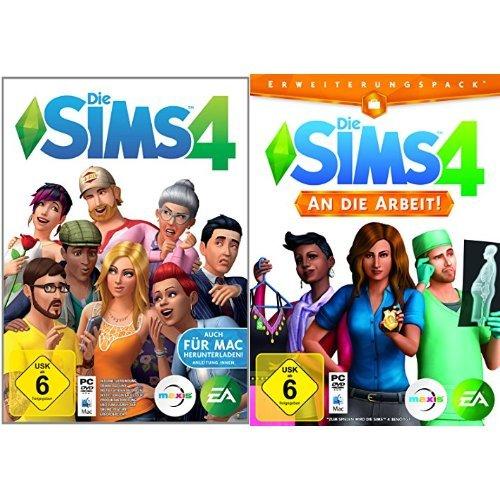 Die Sims 4 & Die Sims 4 - An die Arbeit - Erweiterungspack - [PC]