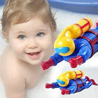 Brave669 Toys for Children Fashion &Plastic Wind-up Diver Clockwork Underwater Adventurer Model Swim Bath Kids Toy, Best Gift for Child