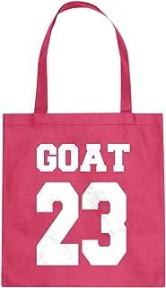 Goat 23 Cotton Canvas Tote Bag
