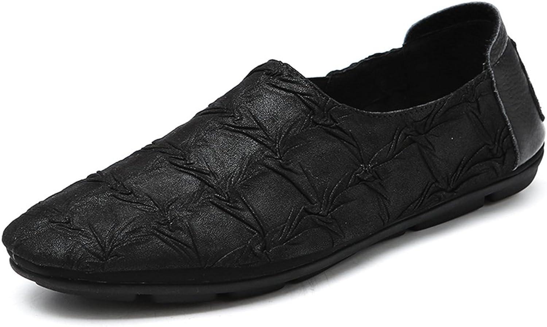 QIDI Casual shoes Male Hip-hop Outdoor Black Rubber Single shoes (Size   EU39 UK6)